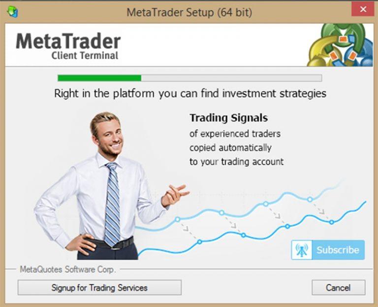 huong fan cai dat Meta Trader 4